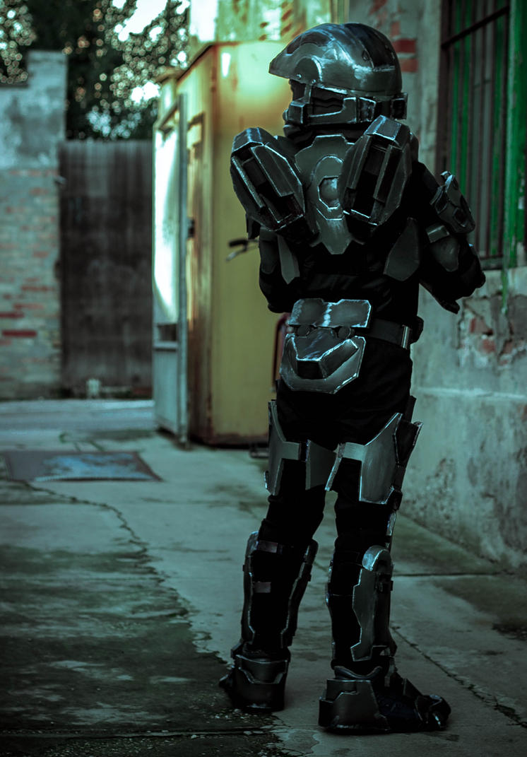 Master Chief Halo 4 based costume by LionFX ... & Master Chief Halo 4 based costume by LionFX on DeviantArt
