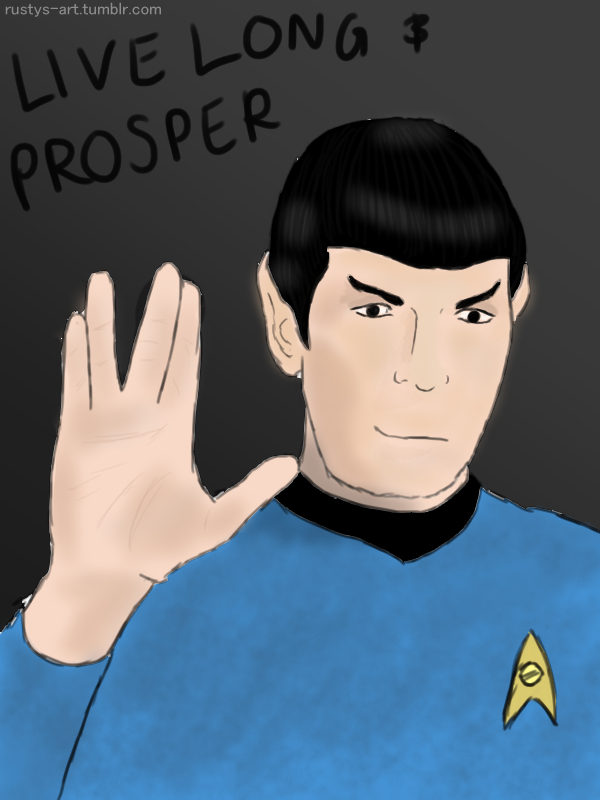 Spock by Quak-Kaysie