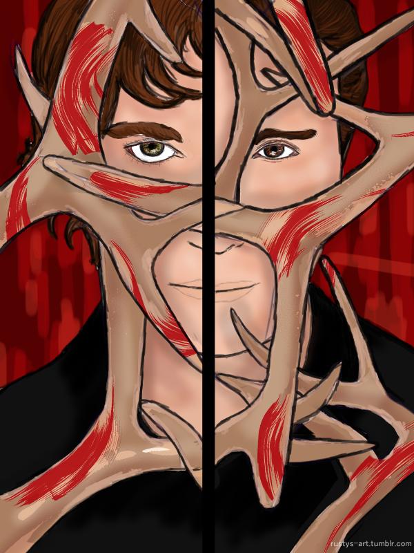 Hannibal Fanart Poster by Quak-Kaysie