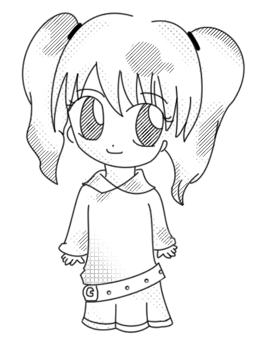 LineART - Cute Girly 8D By Pandiie On DeviantArt