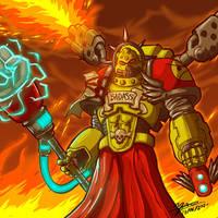 Chief Mindfucker Moarfistin by exsodiaman