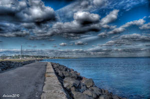 Williamstown Beach HDR 2 by daniellepowell82