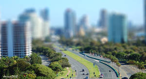 Gold Coast Tilt Shift by daniellepowell82