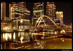 Melbourne Yarra Night HDR by daniellepowell82