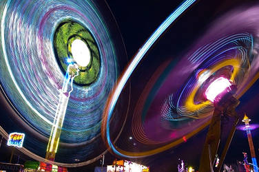 Melbourne Show: Rides by daniellepowell82