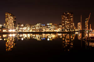 Night: Docklands by daniellepowell82