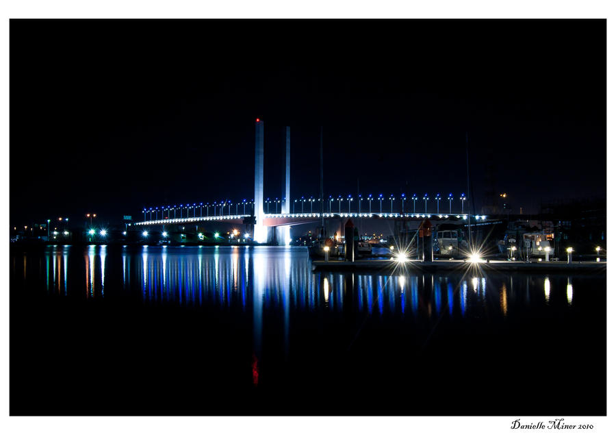 Night: Bolte Bridge by DanielleMiner