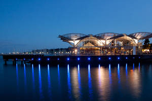 Night: Geelong Waterfront by daniellepowell82