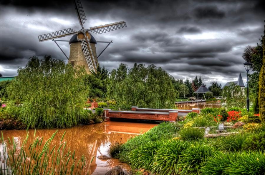 Windmill Gardens by DanielleMiner
