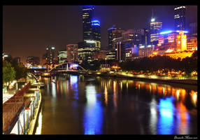 Melbourne City Yarra by daniellepowell82