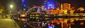 Night Time Panorama by daniellepowell82