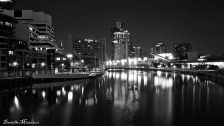 City Scape BW by daniellepowell82