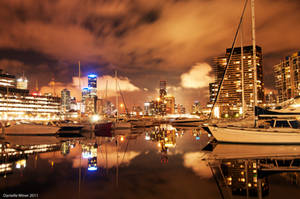 Night Time Reflections by daniellepowell82