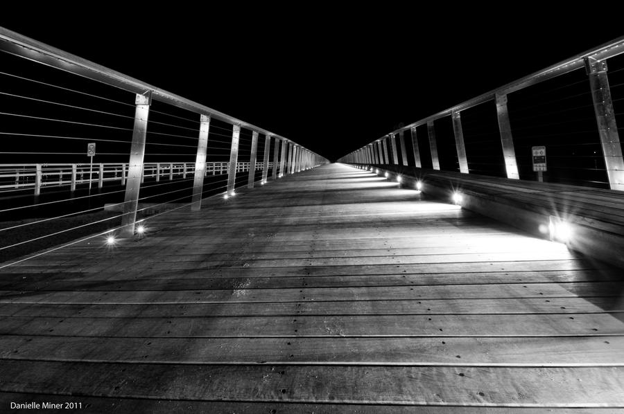 Barwon Heads Bridge BW by DanielleMiner