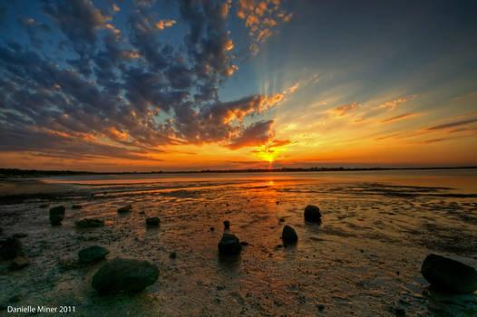 Barwon Heads Sunset HDR