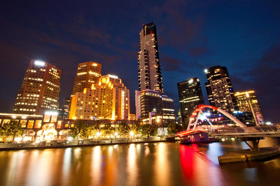 Melbourne Kissing Bridge 2 by DanielleMiner