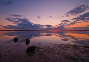 Barwon Heads River Sunset by daniellepowell82