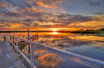 Barwon Heads River Sunset hdr