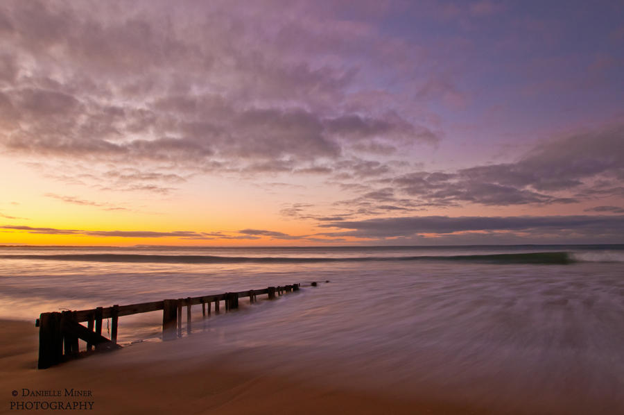 Raafs Beach Sunrise by DanielleMiner