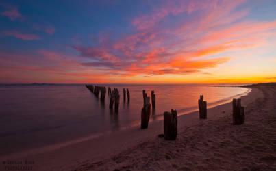 Clifton Springs Sunrise by daniellepowell82