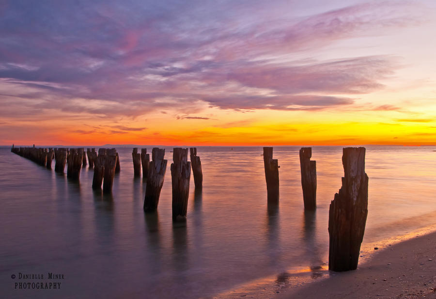 Clifton Springs Sunrise 3 by DanielleMiner
