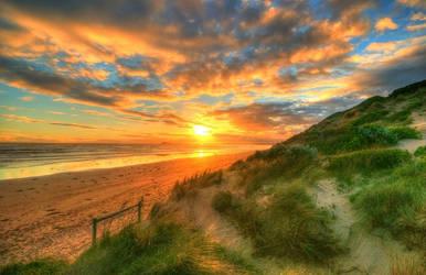 Ocean Grove Sunset 2 by daniellepowell82
