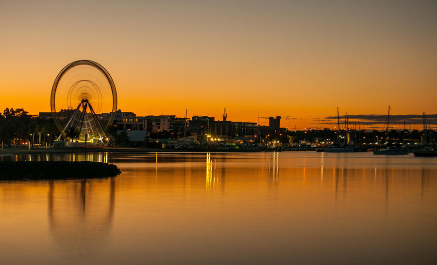 Geelong at Sunset by DanielleMiner