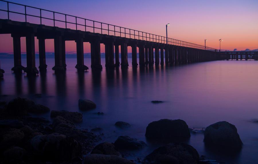 St Leonards Sunrise by DanielleMiner