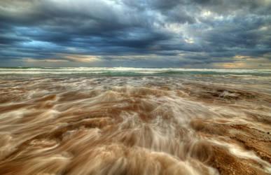 13th Beach Storm by daniellepowell82