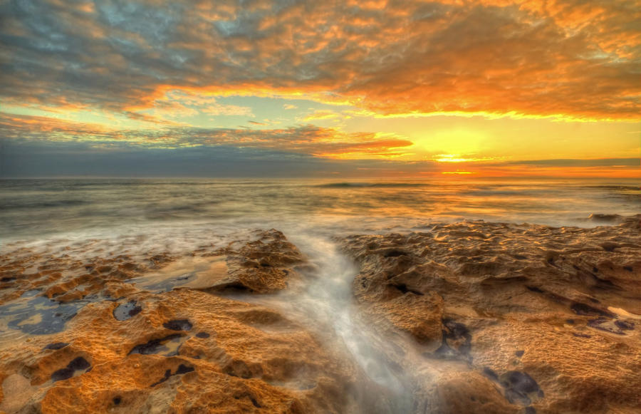 13th Beach Sunset 3 by DanielleMiner