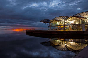 Dawn Waterfront by daniellepowell82
