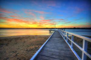 Barwon Heads Pier Sunrise by daniellepowell82