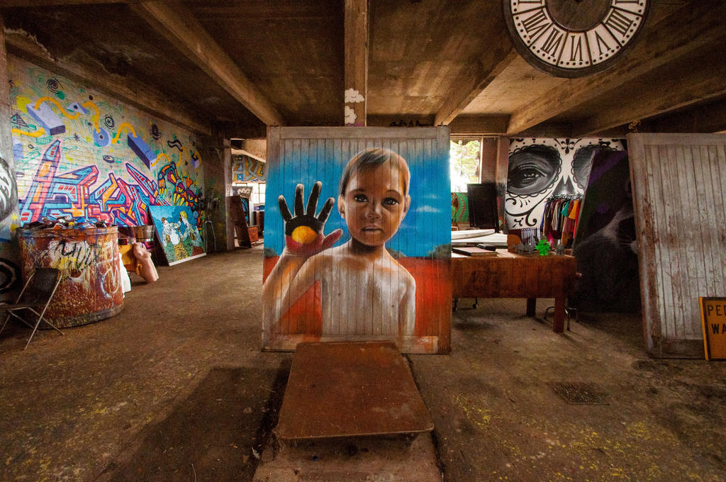 Inside the Powerhouse by DanielleMiner
