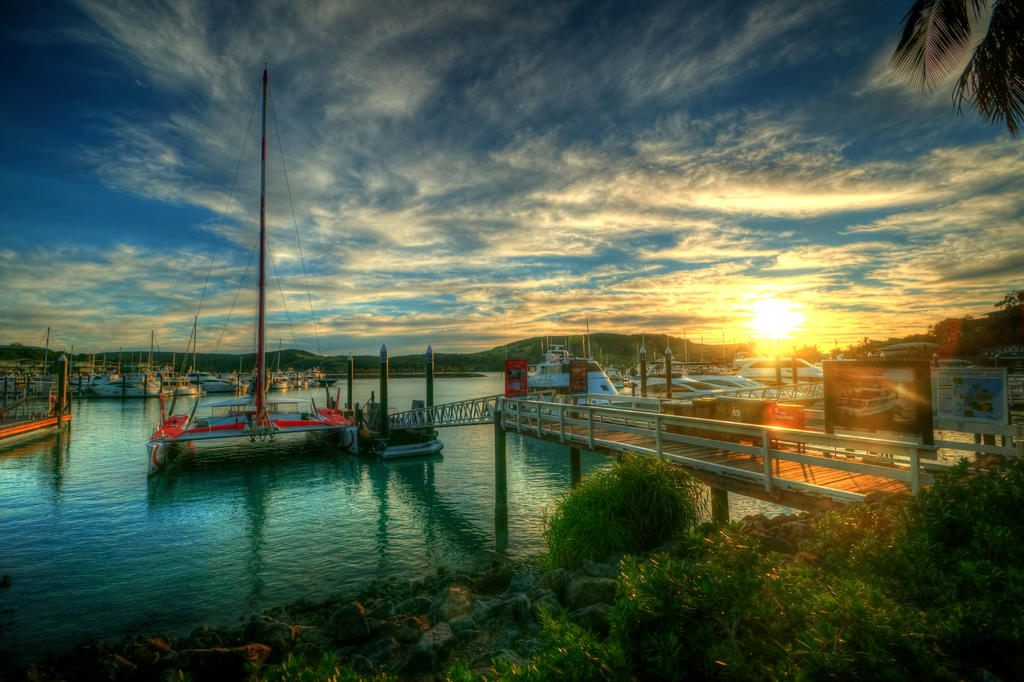 Island Sunset by daniellepowell82