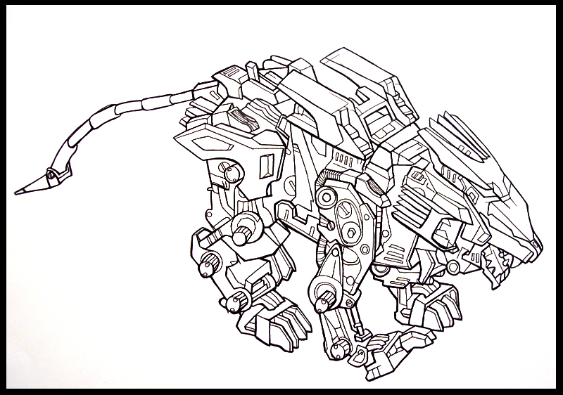 liger coloring pages - photo #43