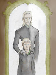 draco malfoy and the magic mirror by withswords