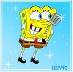SpongeBob and the spatula