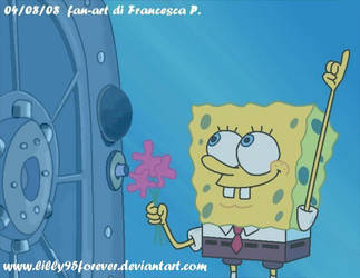 spongebob to the sandy's dome by LillayFran