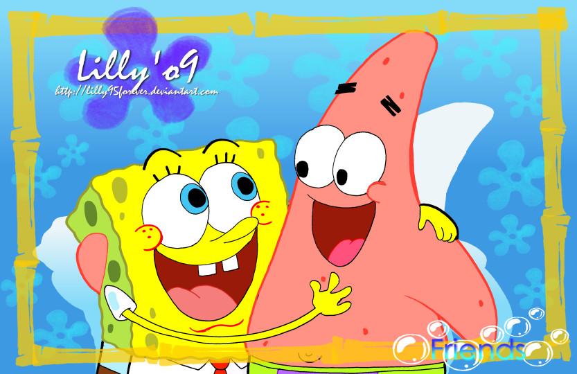 Spongebob and patrick by lillayfran