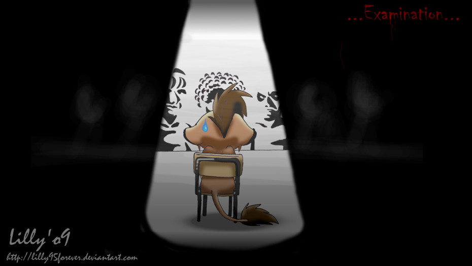 the examination by LillayFran