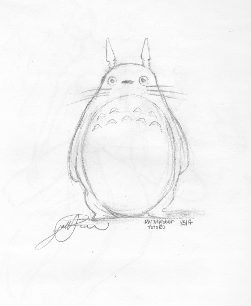 Totoro by Yani-inay