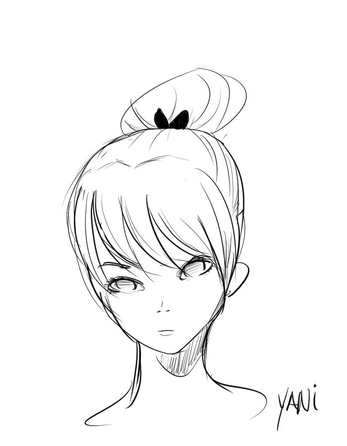 Bun by Yani-inay