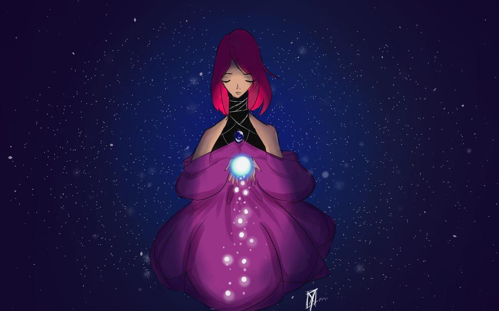 Universe glow by Yani-inay