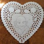 Zippo Doily Art Sketch by AngelaCross