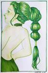 Green Eileen by AngelaCross