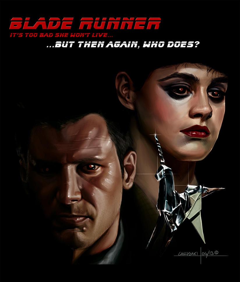 Blade Runner by Laggyzaki