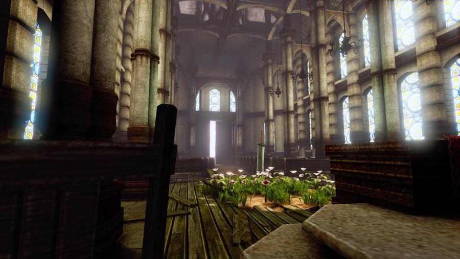 FF7 Sector 5 Church UDK by Laggyzaki on DeviantArt