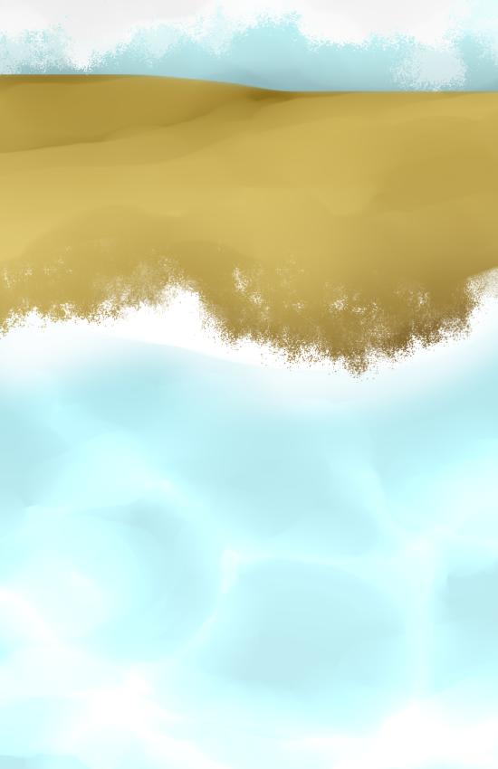 [Practice water pattern] Beach lwl by NNJung