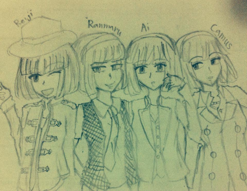 [UtaPri] My Mascot cosplay Quartet Night by NNJung