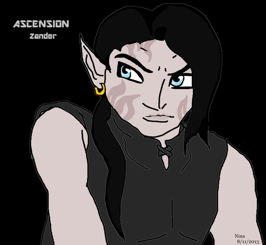Zander From Ascension by Sweetnessnina on deviantART Zander Ascension
